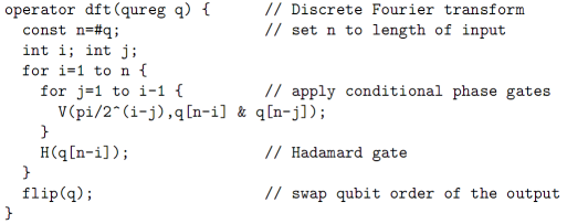 quantum computing programming language pdf